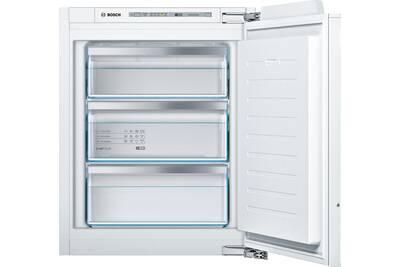 Congelateur Armoire Bosch Congelateur Integrable 72 L A Bosch Giv11afe0 Darty