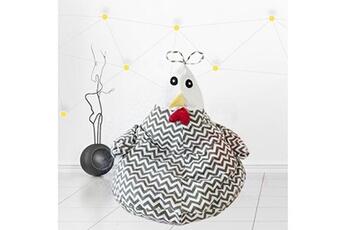 Jouets éducatifs AUCUNE Portable enfants dessin animé poussin pouf chaise jouets vêtements sac de rangement canapé paresseux xsl90313622gy