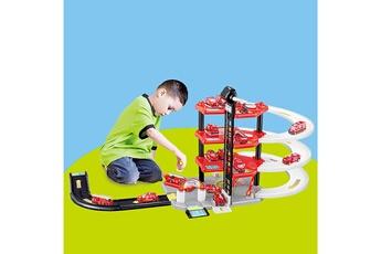 Accessoires pour maquette AUCUNE Accessoires pour maquette les enfants ont assemblé la voiture de piste puzzletoy simulation parking lot toy model car -multicolore