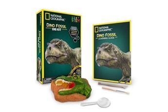 Jeux en famille National Geographic Kit de fouille national geographic fossiles de dinosaures