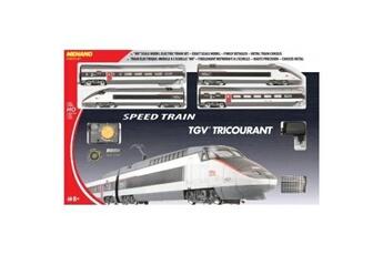 Trains GENERIQUE Mehano - t110 - radio commande, véhicule miniature - coffret tgv réseau tricourant