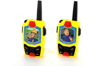 Jeux ludo éducatifs Dickie Dickie toys sam walkie talkie sans fil 434 mhz port?e jusqu'? 250 m