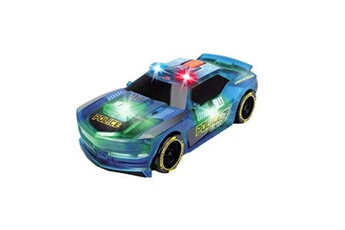 Circuits de voitures Dickie Dickie toys lightstreak police voiture de course ? friction, 203763001