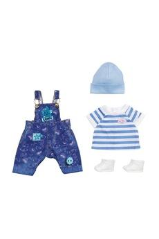 Poupées Zapf Creation Zapf creation 829127 - baby born deluxe ensemble de salopette en jeans 43 cm