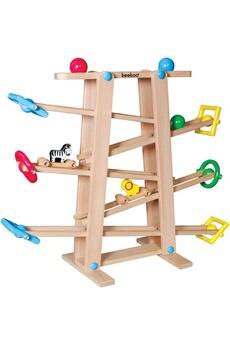 Autres jeux créatifs Vedes Vedes 41509228 - beeboo circuit à billes en bois