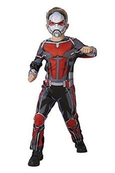 Déguisements RUBIES Rubie's 640486 m officielle marvel avengers ant-man classique âge costume-medium enfant hauteur 116 cm, garçon, 5–6