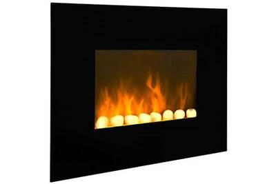Cheminée électrique Chemin'Arte Cheminée électrique 2000w noir - cheminarte - black fire
