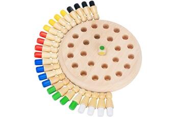 Jouets éducatifs Qumox Jeux de mémoire en bois, jeux de société pour enfants et adultes, jeu de réflexion et logique