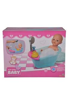 Poupées Simba Toys Simba toys 105560123 - new born baignoire bébé poupée baignoire