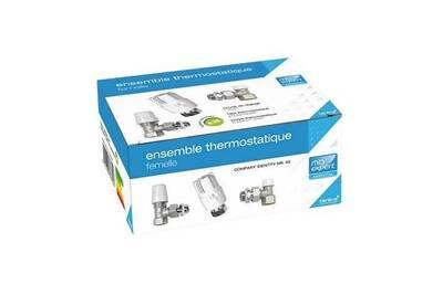 Accessoires chauffage central Mb Expert Ensemble robinetterie de chauffage thermostatique 15 x 21 - femelle
