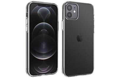 Coque iphone 12 / 12 pro silicone gel flexible ultra-fine et légère transparent