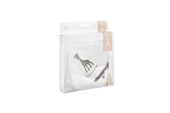 Sortie de Bain bébé Vulli Sophie la girafe boite cadeau cape de bain