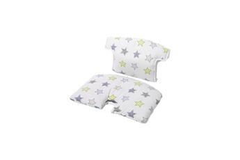 Chaise haute Geuther Coussin de chaise tissu spécial chaise évolutive syt - blanc / etoiles