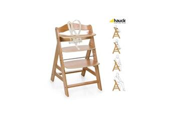 Chaise haute Hauck Chaise bois évolutive alpha +