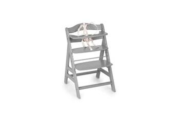 Chaise haute Hauck Chaise haute évolutive bois alpha + / grey