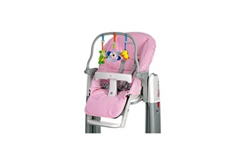 Chaise haute PEG PEREGO Kit tatamia - coloris rose