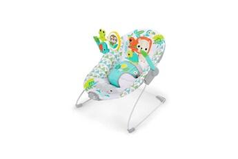 Transat bébé BRIGHT STARTS Transat bébé spinnin' safari avec vibration et arche de jeux