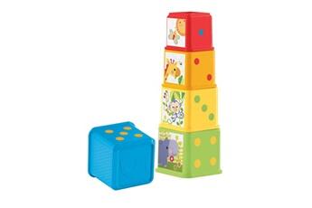 Jeux en famille Fisher Price Fisher-price cubes d?couvertes, jouet pour b?b? ? empiler et ? embo?ter, 6 mois