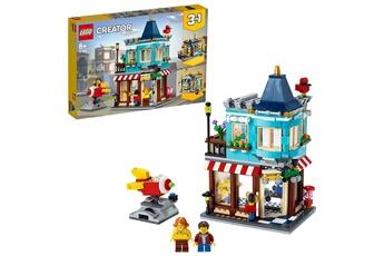 Jeux en famille Lego Lego? creator - le magasin de jouets du centre-ville, jeu cr?atif 8 ans et plus, jeu d'amusement de 554 pi?ces - 31105