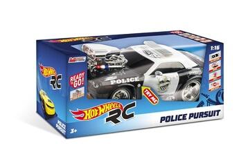 Circuits de voitures Hot Wheels Hot wheels l&s police pursuit r / c 1:16, 63505, couleur