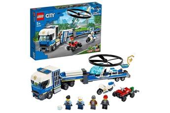 Jeux en famille Lego Lego? city - le transport de l'h?licopt?re de la police, jouet de construction enfant 5 ans et plus, 317 pi?ces - 60244