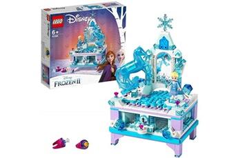 Jeux en famille Lego Lego?-disney princesstm la bo?te ? bijoux d'elsa inspir? du palais reine des neiges 2 de disney jouet fille et gar?on 6 ans et plus, 300 pi?ces 41168