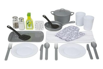 Jeux d'imitation MELISSA & DOUG Melissa & doug accessoires de cuisine 22 pièces