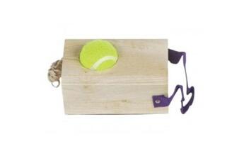 Jeux en famille GENERIQUE Ak sport - 0726084 - jeu de raquette - tennis trainer rubberwood - 1,2 kg