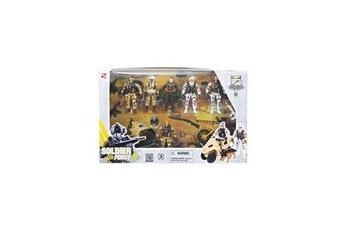 Figurines personnages Logitoys Coffret figurines de combat