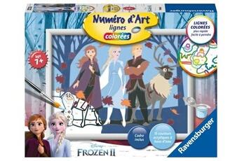 Peinture et dessin RAVENSBURGER Num?ro d'art moyen format la reine des neiges 2 ravensburger