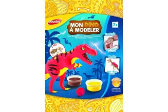 Pâte à modeler et bougie Joustra Mon dino à modeler joustra t-rex
