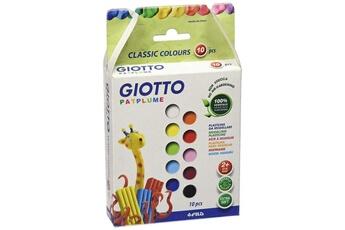 Pâte à modeler et bougie GIOTTO'S Giotto patplume boîte de 10 bâtons de pâte à modeler