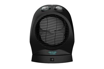 Chauffage soufflant Cecotec Chauffage Faible Consommation Ready Warm 360�. Distribution homog�ne, Thermostat R�glable , 3 modes, Protection contre les surchauffes, Syst�me Anti-renversement , Silencieux, 2000 W.