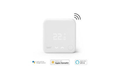 Thermostat et programmateur de chauffage Tado ° - sonde de température sans fils