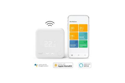 Thermostat et programmateur de chauffage Tado ° - thermostat intelligent sans fils - kit de démarrage v3+