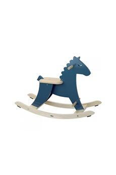 Bascule VILAC Vilac - hudada cheval à bascule bleu paon