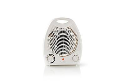 Radiateur électrique Nedis Radiateur soufflant 2000 w thermostat réglable chauffage d'appoint