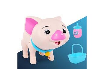 Jouets éducatifs GENERIQUE Smart feeding pet simulation electric machine dog toy for children(pig)