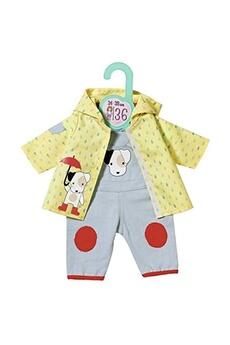 Poupées Zapf Creation Zapf creation 870594 - baby dolly moda salopette avec imperméable pour poupée de 36 cm