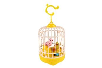Jouets éducatifs GENERIQUE Birdcage toy for children electronic interactive talking toys pets cute gift jaune
