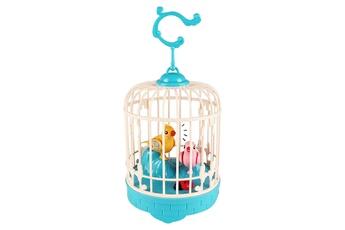 Jouets éducatifs GENERIQUE Birdcage toy for children electronic interactive talking toys pets cute gift bleu