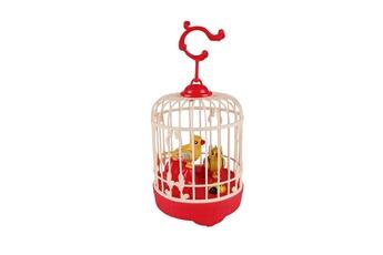 Jouets éducatifs GENERIQUE Birdcage toy for children electronic interactive talking toys pets cute gift rouge