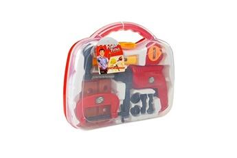 Jeux d'imitation Lean Toys Power tools mallette à outils pour enfant avec perceuse et marteau
