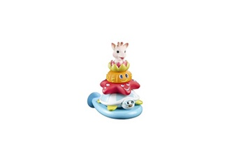 Jouet de bain Vulli Sophie la girafe jouet de bain splash and surf pyramid - nouveau design