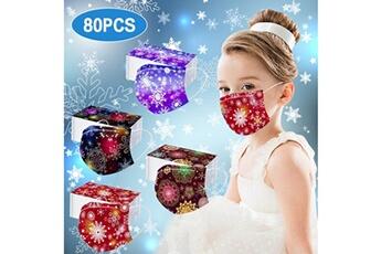 Masques AUCUNE Masque facial jetable pour enfants f