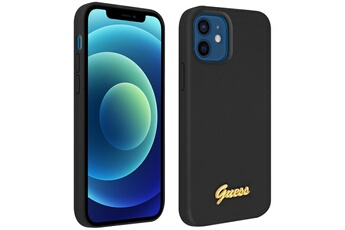 Coque iPhone Guess Coque iphone 12 mini silicone gel soft touch ...