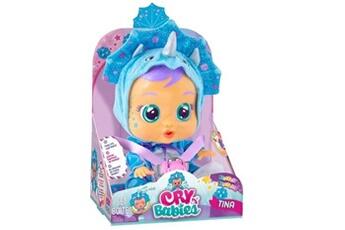 Poupées Cry Babies Poupon cry babies fantasy tina dino