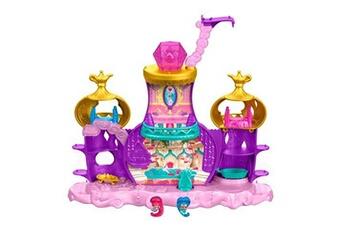 Accessoires de poupées Fisher Price Fisher-price shimmer et shine teenie floating genie palace mini-figurines, dtk59, multicolore