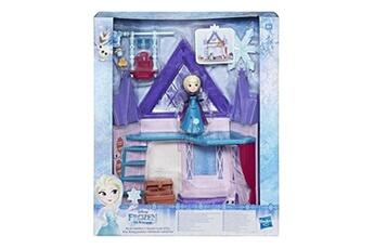 Poupées Disney Playset disney frozen la reine des neiges chambre royale d'elsa
