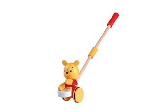 Peluches Be Imex Disney winnie l'ourson jouet ? pousser en bois multicolore - 15x7.5x49 cm